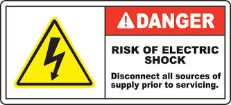 Surse comune de risc electric